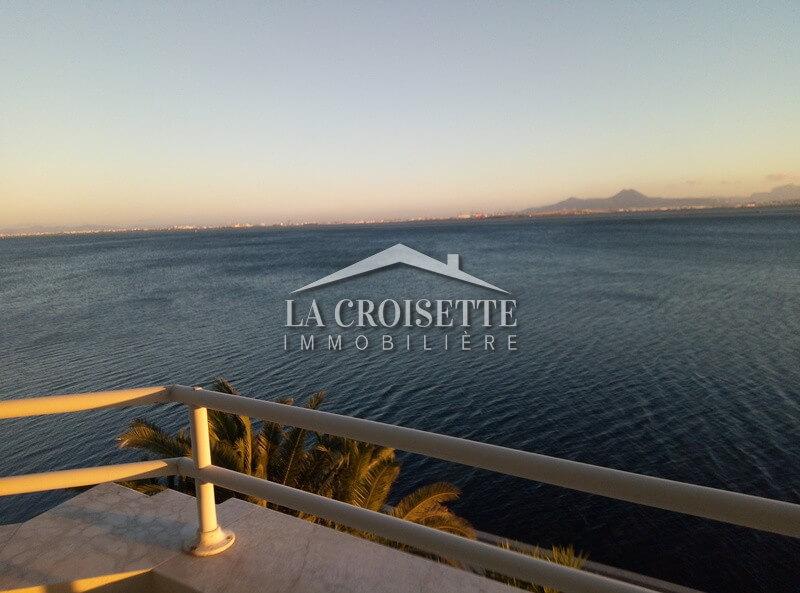 Appartement S+3 Meublé vue sur le lac