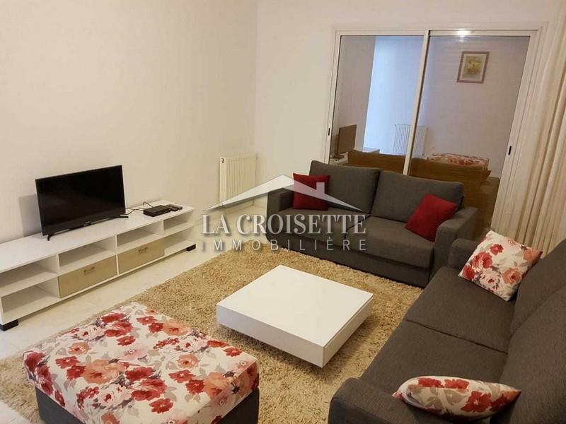 Un bel appartement S+1 meublé aux jardin de Carthage
