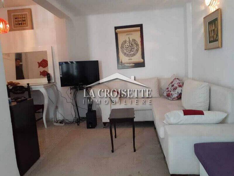 Appartement s+1 meublé à La Marsa