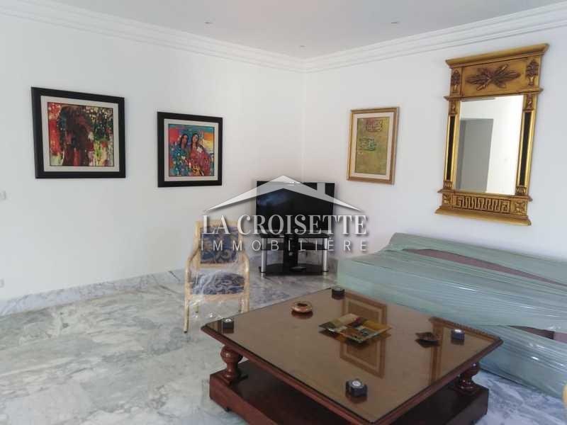 Appartement s+2 richement meublé