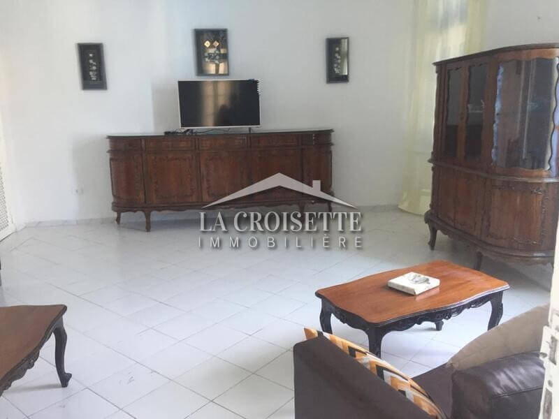 Appartement meublé s+3 à La Marsa Villa