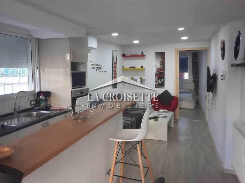 Un appartement S+1 meublé à La Marsa