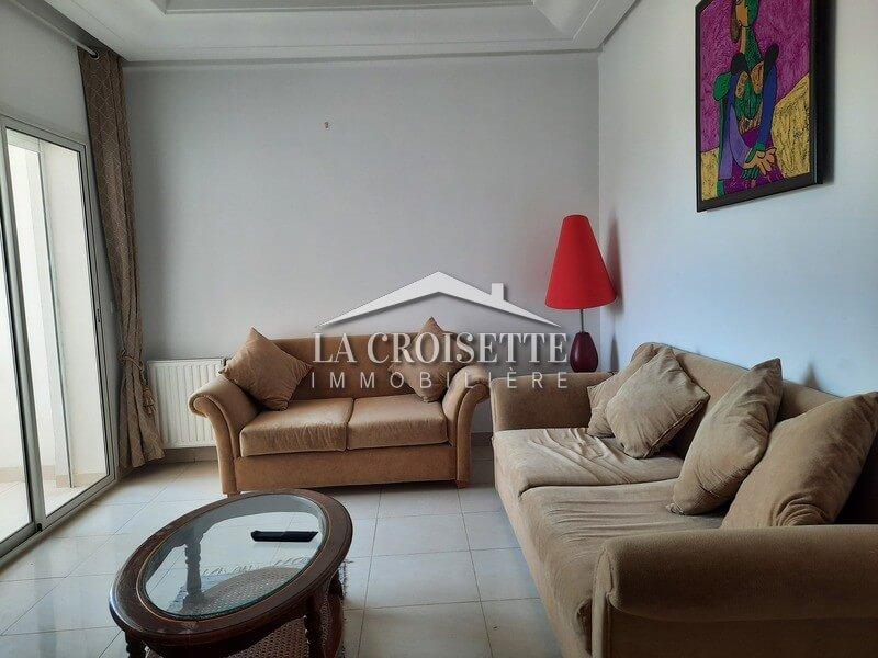 Un appartement s+1 meublé à Ain Zaghouan les palmeraies