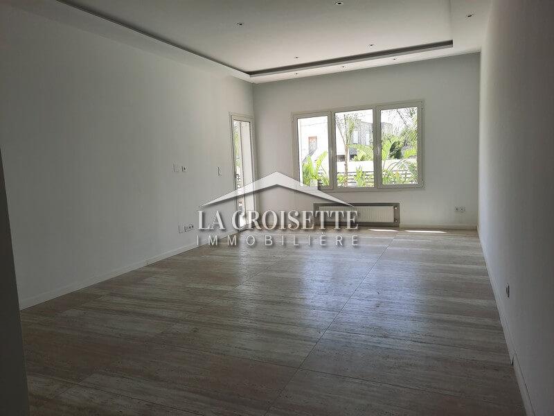 Un appartement s+2 rez-de-chaussée à La Marsa Sidi Daoud