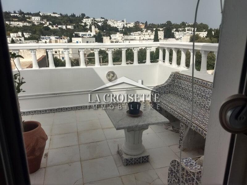 Un duplex S+2 meublé à Sidi Bou Said