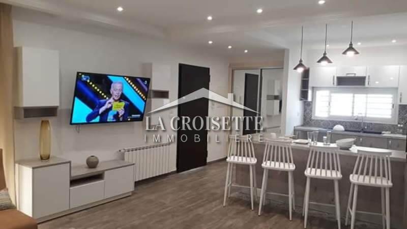 Un appartement s+2 meublé de haut standing à Sidi Daoud