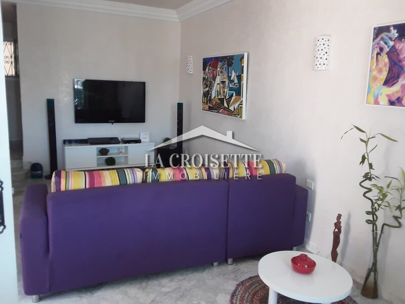 Un appartement S+1 meublé à Sidi Bou Said