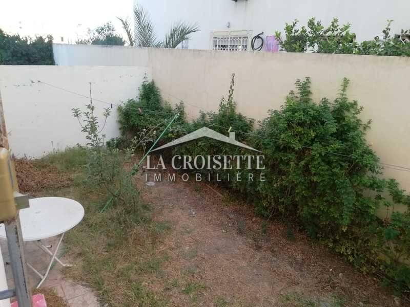 S+2 meublé avec jardin à Ain Zaghouan Sud