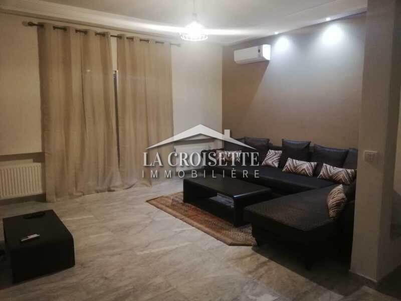 Un appartement s+3 meublé à Ain Zaghouan nord .
