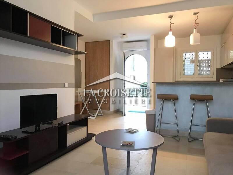 Un appartement S+1 meublé à Gammarth