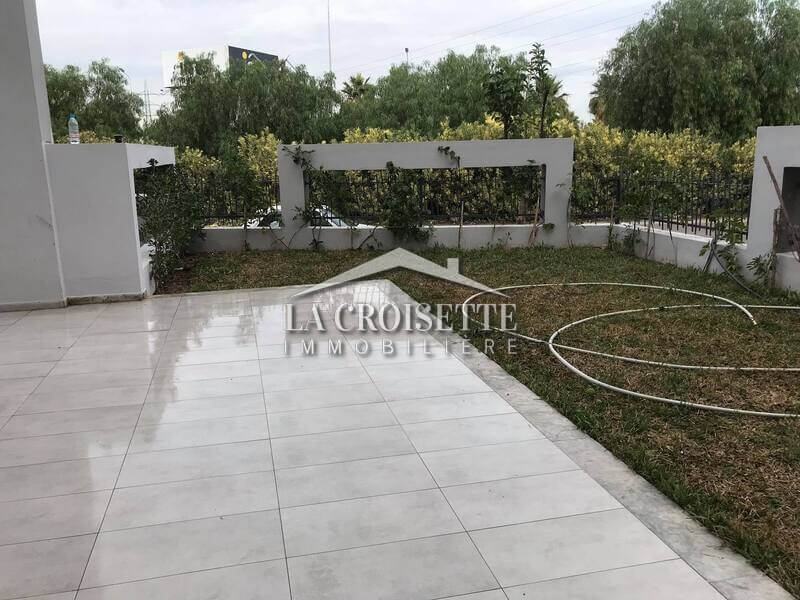 S+1 avec jardin aux Jardins De Carthage