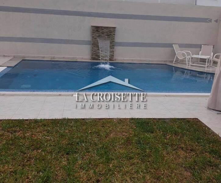 S+3 avec jardin et piscine à La Marsa