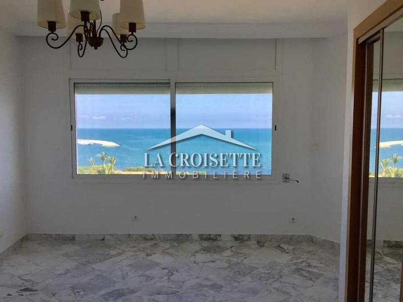 Duplex S+3 vue sur mer à Gammarth