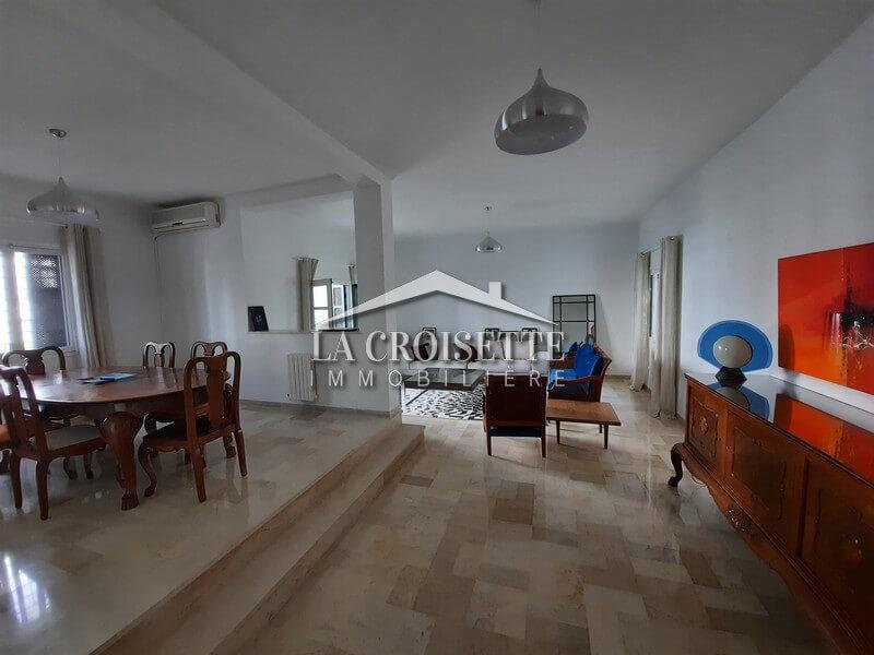 Duplex richement meublé s+3 à La Marsa Sidi daoued