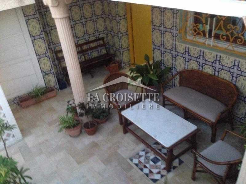 Un étage de villa meublé à Sidi Bou Said
