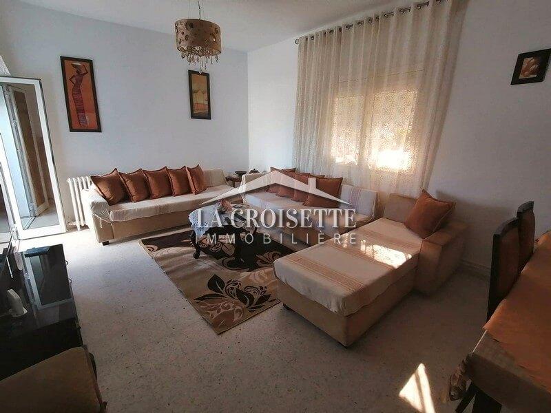 Joli étage de villa meublé à La Marsa