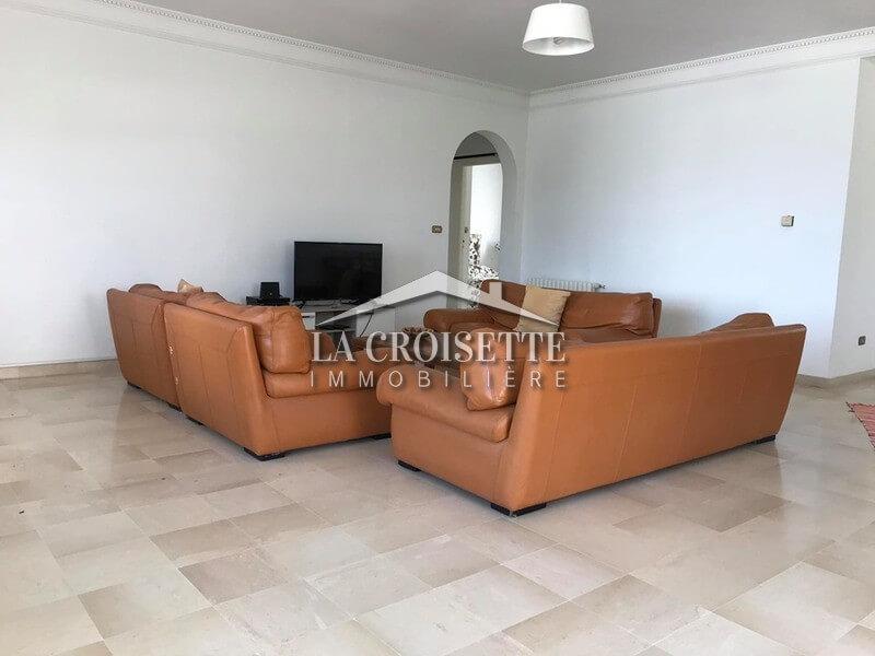 Etage de villa meublé S+2 à La Marsa Cube