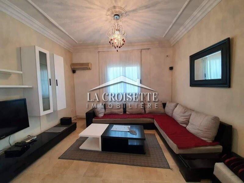 Un étage de villa meublé à La Marsa