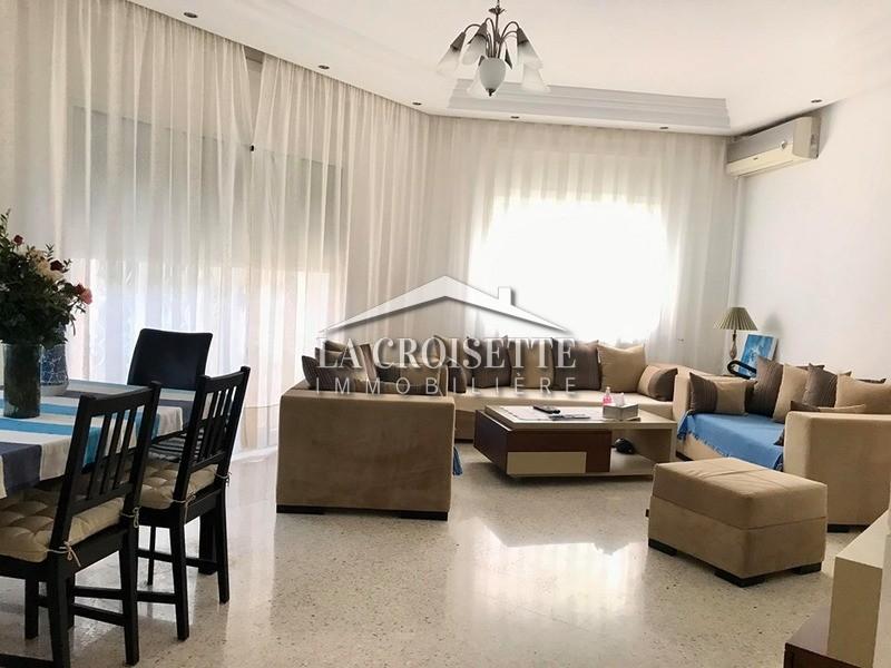 Un appartement S+3 meublé à La Marsa