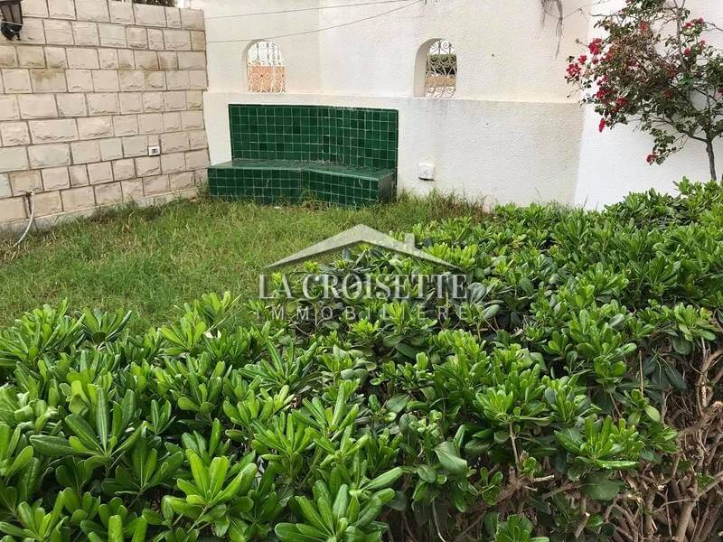 S+2 avec jardin à Sidi Bou Said