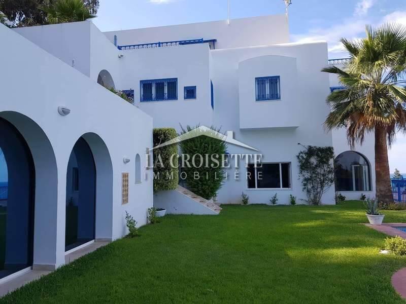 Une magnifique villa de maître à Sidi Bousaid