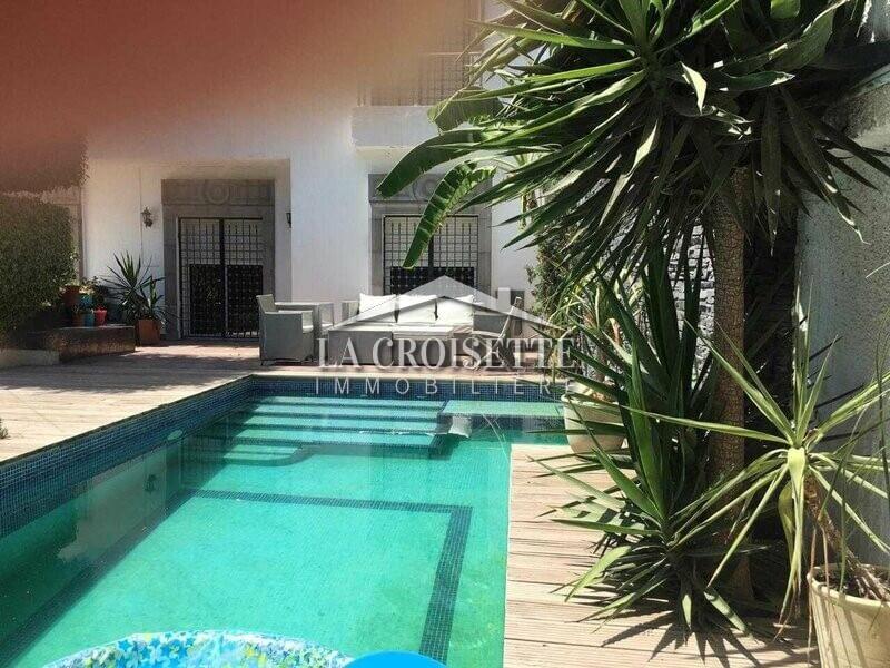 Villa avec jardin et piscine à la soukra