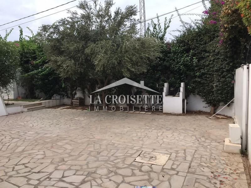 Villa S+3 avec piscine à La Marsa