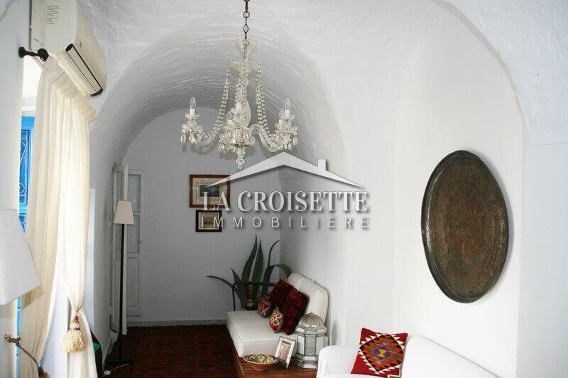 Une maison S+5 meublée à Sidi Bou Said