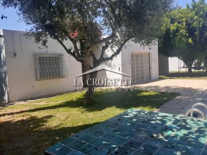 Une villa S+4 avec piscine à Carthage