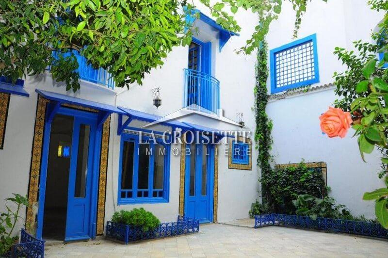 Une villa meublée S+4 vue mer à Sidi Bou Said