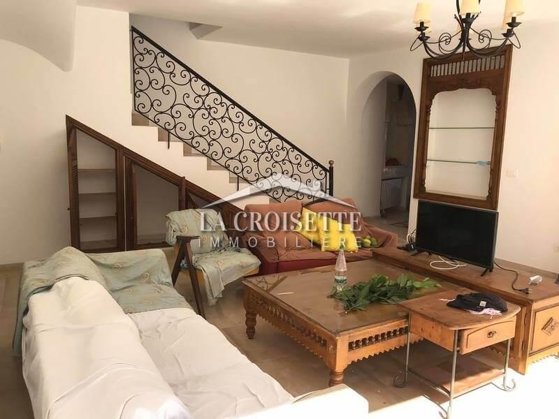 Une villa S+3 à Sidi Bou Said