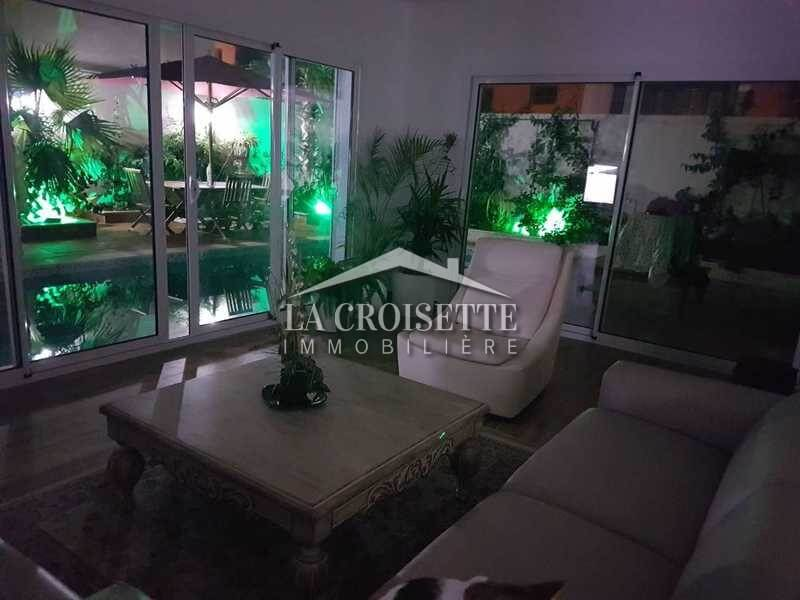 Villa moderne avec piscine à la Soukra