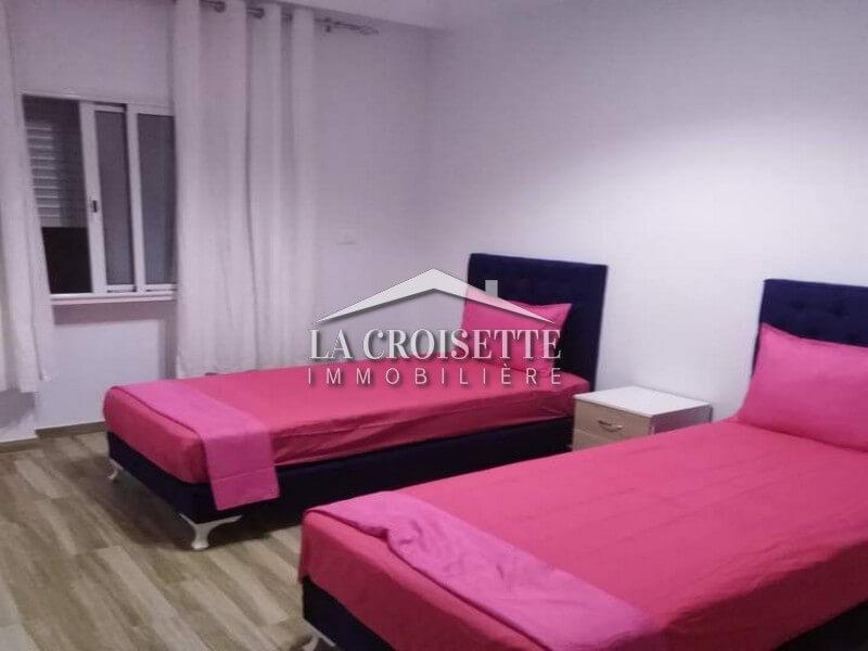 Un appartement s+2 meublé au kram