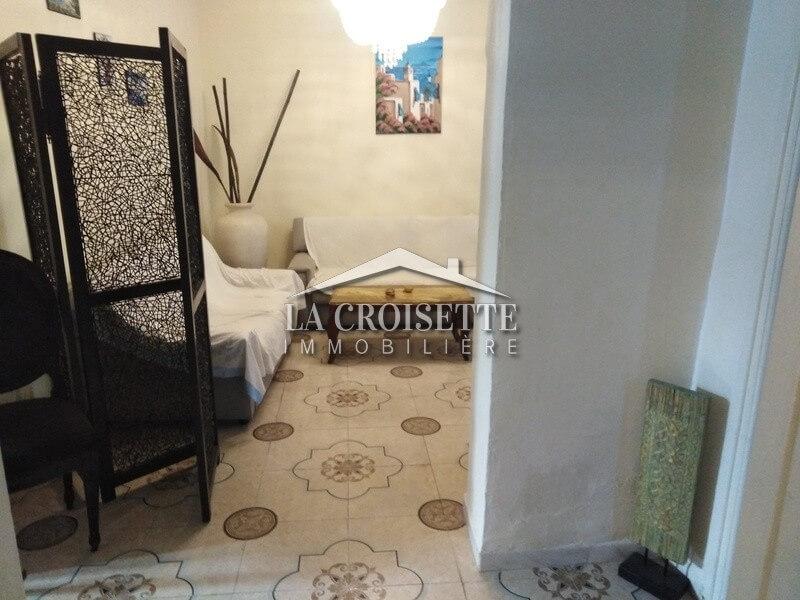 A louer un appartement meublé à La Marsa Ville