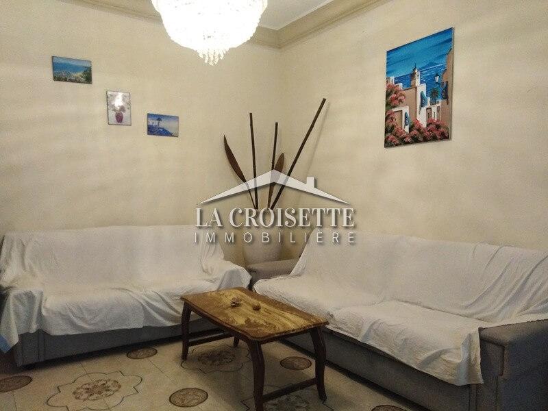Un appartement S+1 meublé à Marsa Ville