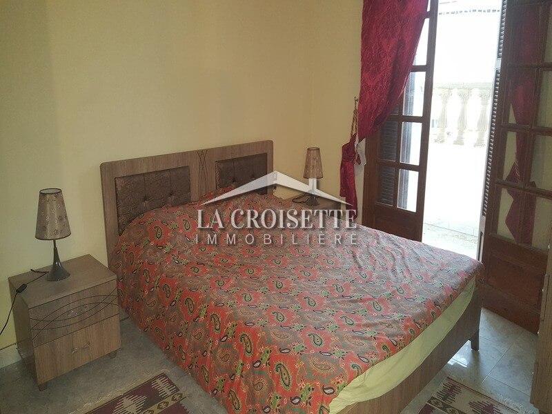 Un appartement s+2 meublé à La Marsa