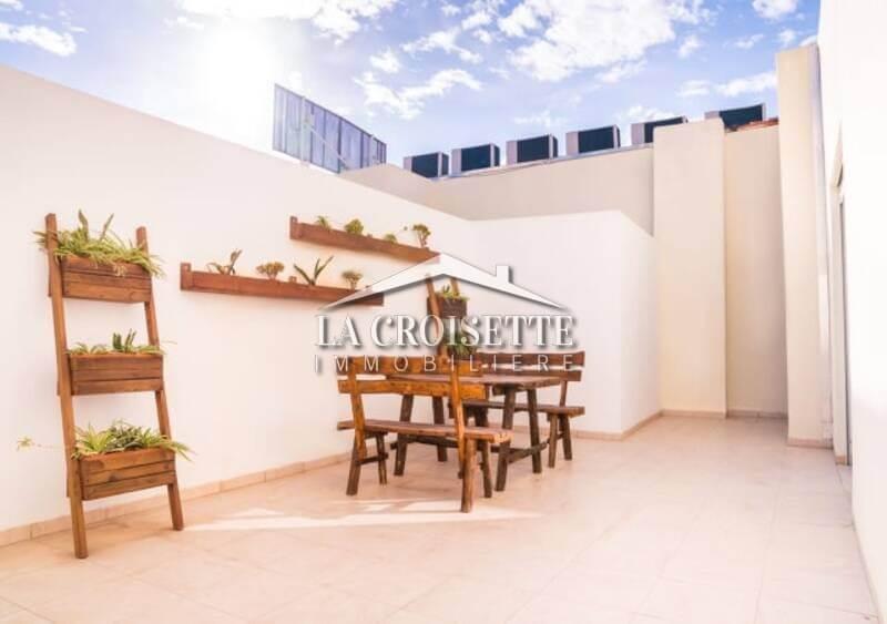 Un appartement s+2 meublé à la Soukra