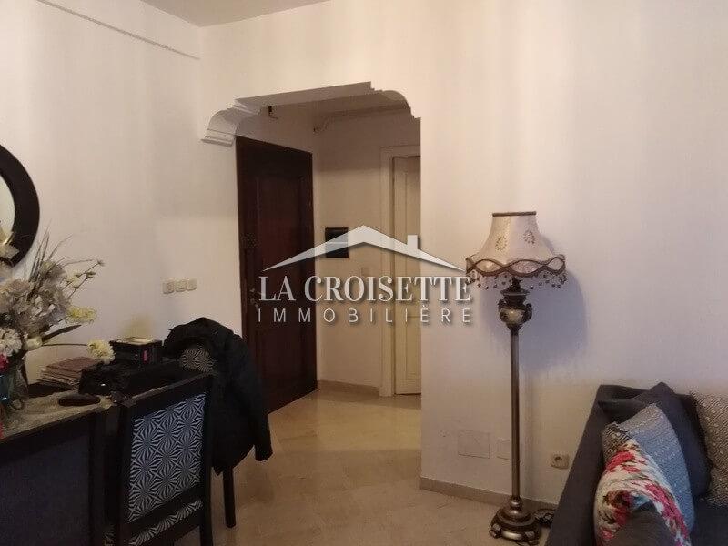 Un appartement S+2 meublé à Cité Les Palmeraies