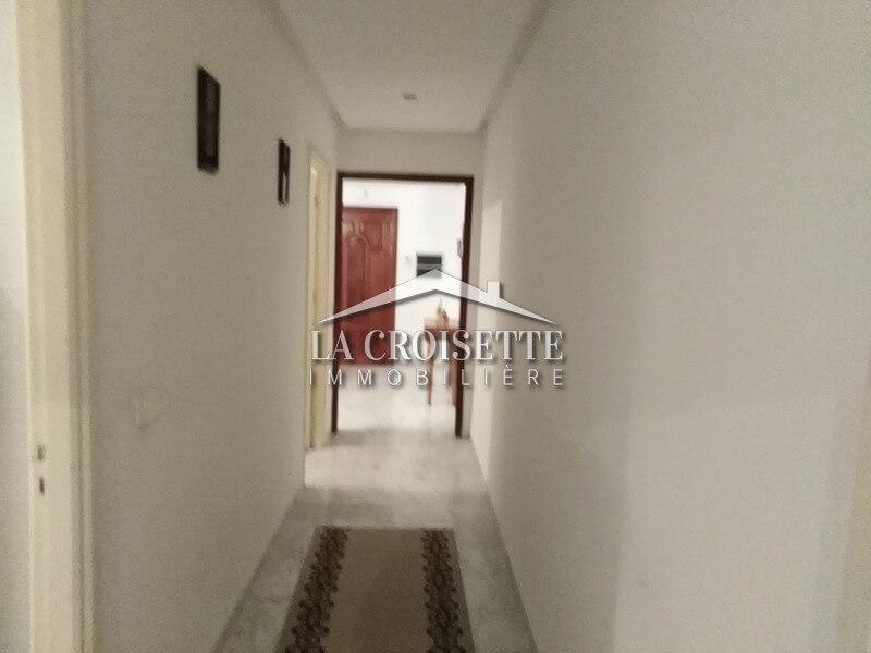 A louer un appartement s+3 meublé à Ain Zaghouan nord