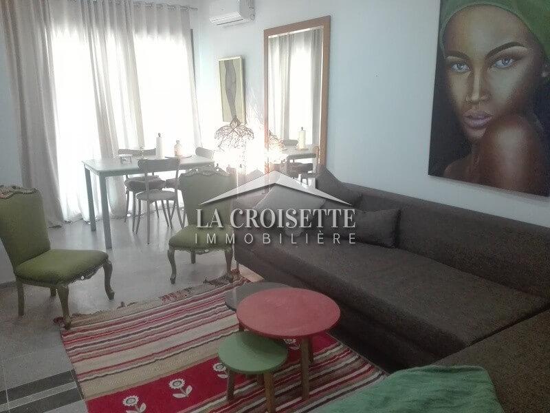 A louer un joli appartement meublé à la Soukra