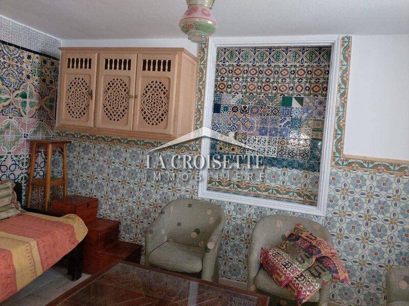 A louer un studio à Sidi Bou Said
