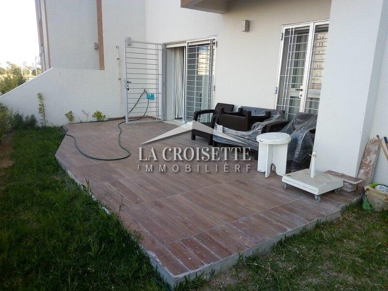 Un appartement S+2 meublé aux Jardins De Carthage