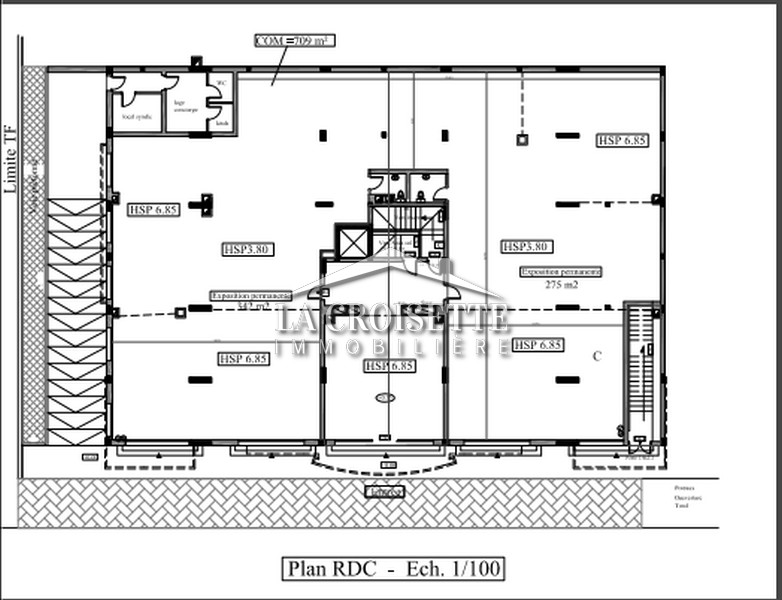 Des bureaux H+3 au Lac 2