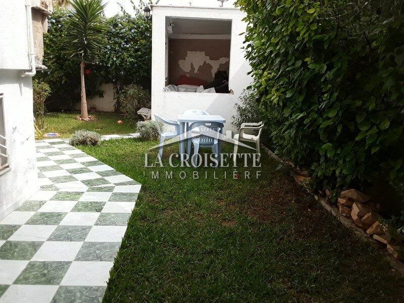 Un appartement s+1 meublé aux Jardins de Carthage