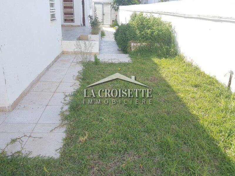 Location d'un rez de chaussée (s+3) avec jardin aux Jardins de Carthage (ZRCL 0020)