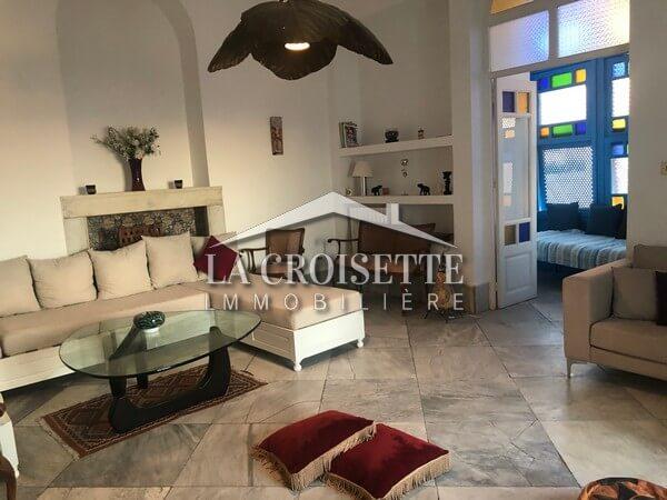 Une maison meublée à Sidi Bou Said