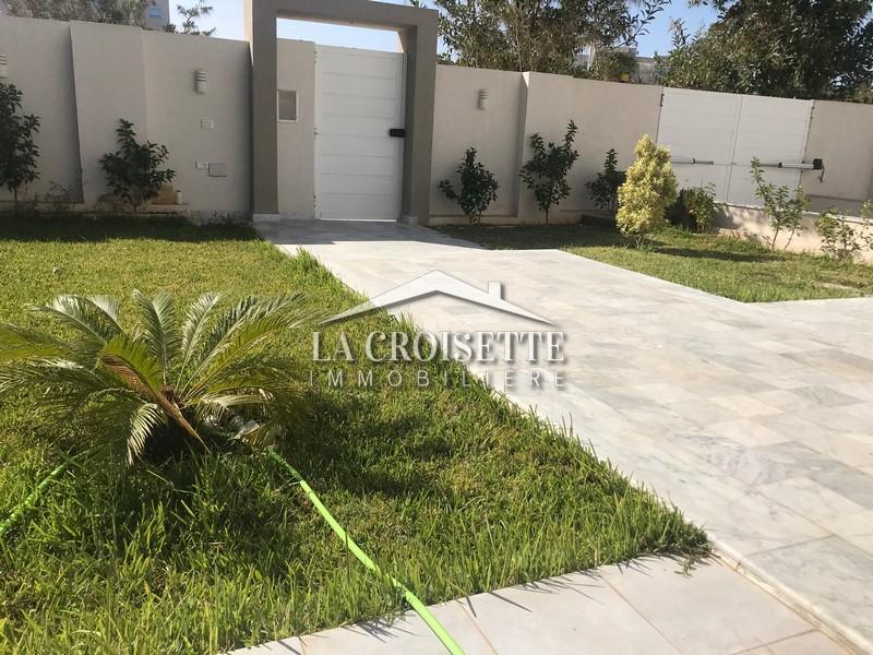 Une villa S+4 aux Jardins De Carthage