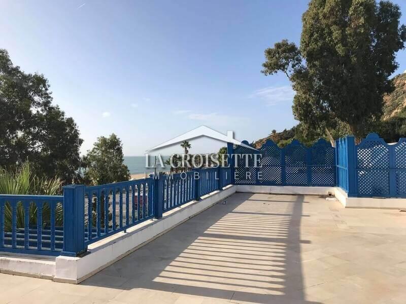 Une villa S+3 vue mer à Sidi Bou Said
