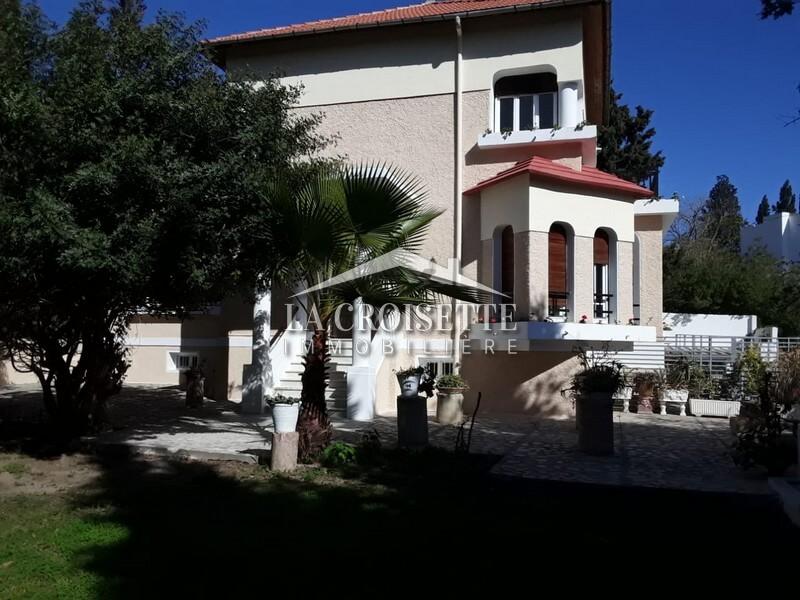Villa S+4 à Carthage