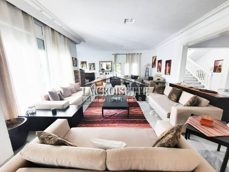 Villa meublée à La Marsa